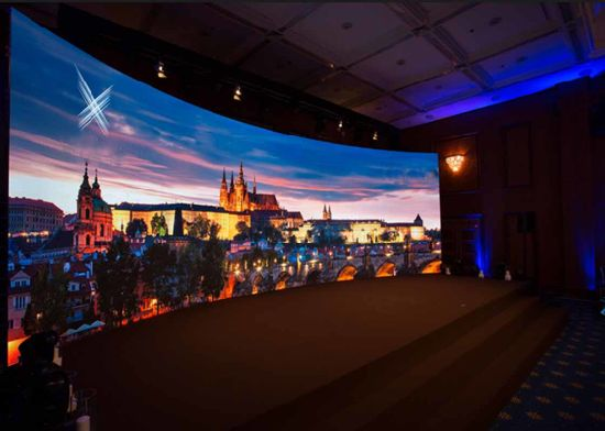 Wide Viewing Angle Indoor Rental Screen High Definition LED Display