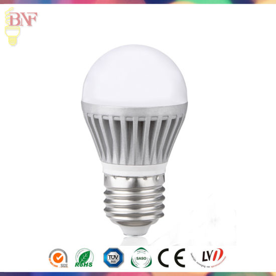 G45 LED Die-Casting Aluminum Factory Global Bulb 4W/6W/8W with Wholesale Day Light pictures & photos