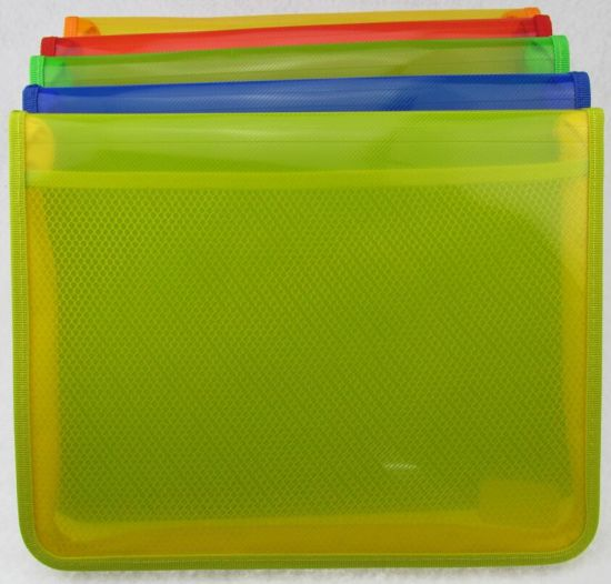 Zipper Bag with Heming (Z015)