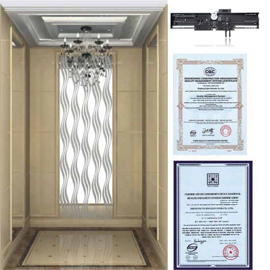 Machine Roomless Passenger Elevator for Hotle pictures & photos