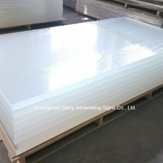 Sanitary Grade White PMMA Acrylic Sheet for Bathtub Washing Room pictures & photos