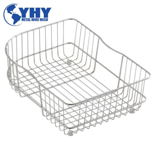 Steel Mesh Tote Baskets