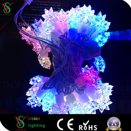 Rgb Led Star Decoration Curtain Light
