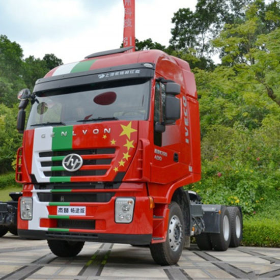 6X4 Cursor Engine 380HP Iveco Hongyan Prime Mover for Sale pictures & photos