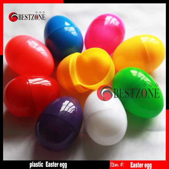Solid Color Plastic Easter Eggs pictures & photos