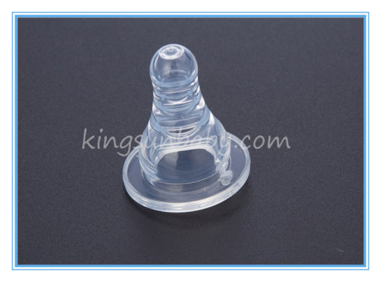 Baby Feeding Silicone Nipple Packing in Containner pictures & photos