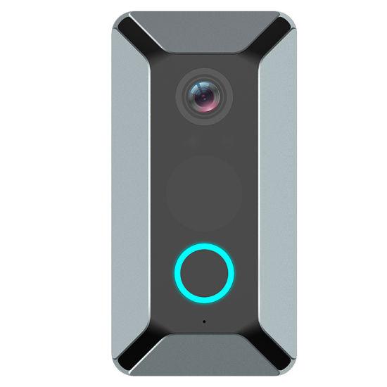 Smart Video Doorbell Camera 1080P Visual Call Intercom Door Bell Infrared  Night Vision Remote Record Home Security Monitoring Doorbell
