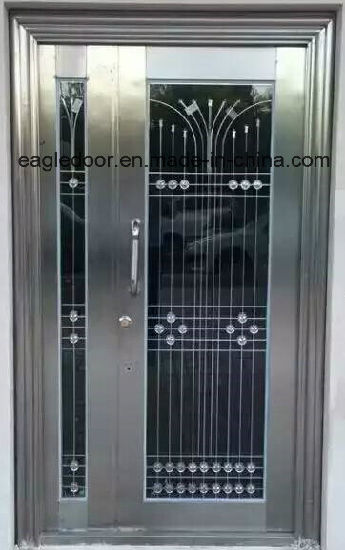 Gloden Stainless Steel Door with Glazing Trim in SUS304 (ES-9077) pictures & photos