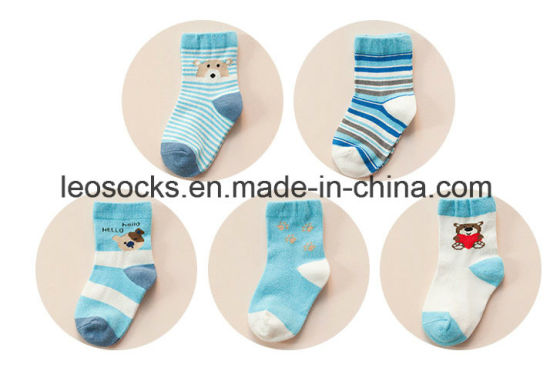 Hot Sale Soft Cotton Baby Socks Wholesale pictures & photos