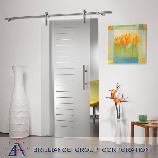 Aluminium Hanging Sliding Door With Diecoration