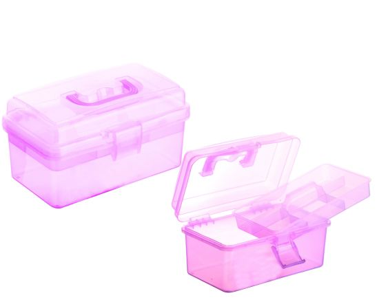 Poratble Plastic Storage Tool Handle Box for Household pictures & photos