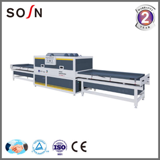 Automatic PVC Film Vacuum Membrane Press From Factory