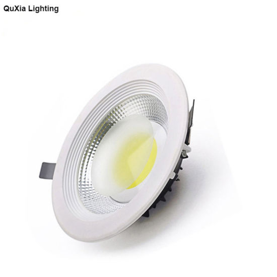 Hot Sale Arab Dia220mm Hole Cut200mm COB Down Light 30W Aluminum Distributor