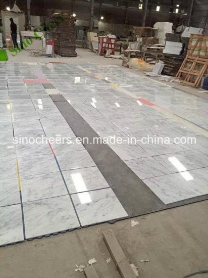 China Italian Marble Prices White Carrara Marble Flooring Tiles