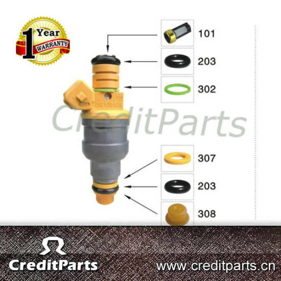 Crazy Hot Sale Bosch Universal Fuel Injector Repair Kits (micro filter  rubber o ring pintle cap spacer)