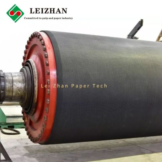 Hard Blind Hole Rubber Press Roll for Paper Machine