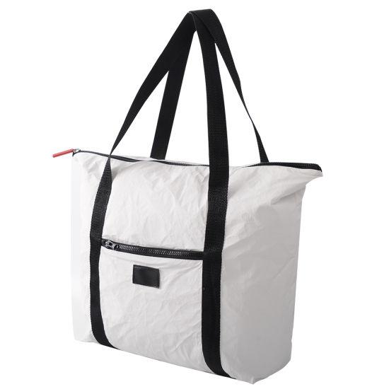 Customized Tyvek Paper Shopping Washing Bag New Classic Design DuPont Bags