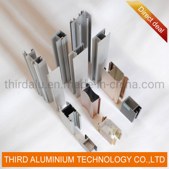 Fluorocarbon Alloy Aluminum Triple Glazing Glass Door Used Mobile Home Casement Doors Profile for Sale