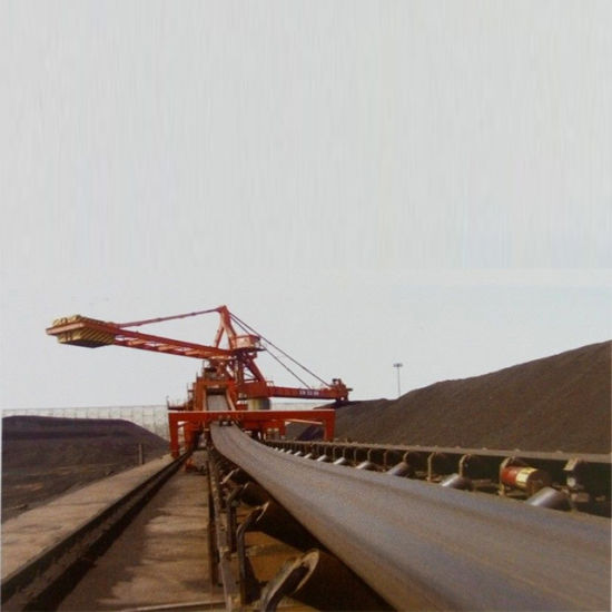 High-Performance Long-Distance Large Inclination Downward Belt Conveyors System for Material Handling