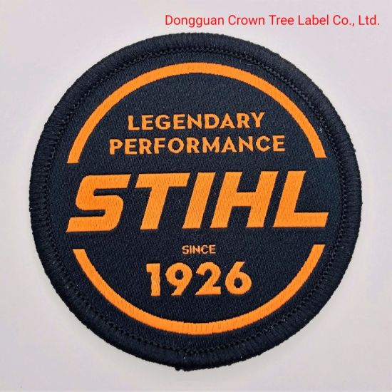 Wholesale Stihl Woven Badge Self-Adhesive