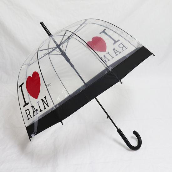 Transparency Dome Umbrella - Plastic Poe Material