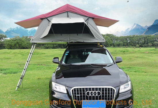 Best Outdoor Camping Equipments Auto Soft Roof Top Tent for 4X4 SUV Jeep Venture Safari Trips pictures & photos