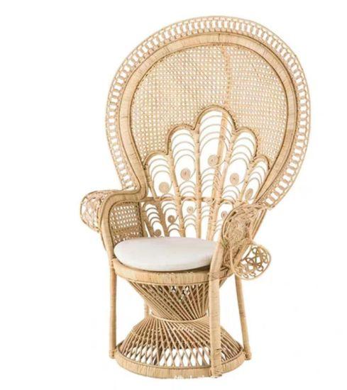 Modern High Bed Chaise Lounge Chair Outdoor Garden Chair Wicker Rattan Patio Furniture