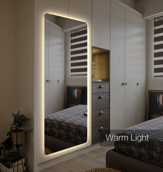 Full Length LED Wall Mirror Lighted Furniture Mirror China Manufacturer