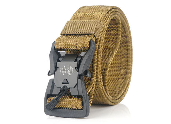 Wholesale High Quality Nylon Convenient Belt Webbing Canvas Plastic Buckle Outdoor Belt