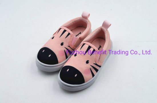 2019 New Sweet Stripe Children Baby Shoes pictures & photos