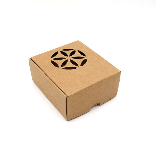 Custom Printed Brown Cheap Soap Jewelry Packaging Mail Paper Box