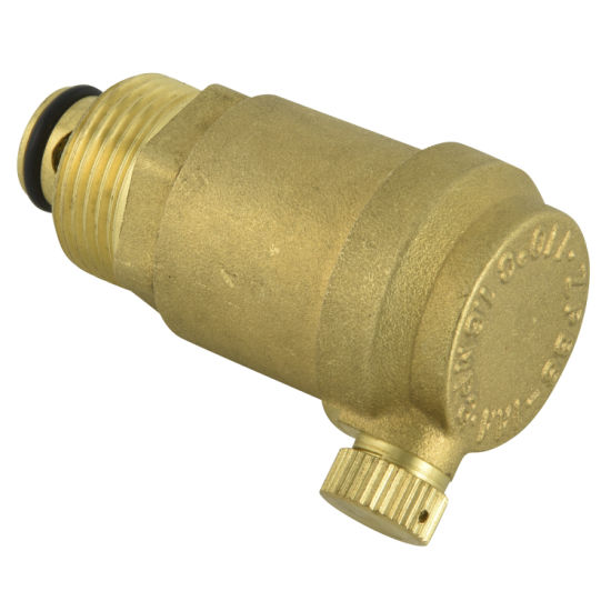 """Brass Air Vent Safety Valve with Size 1/2"""" Inch"""