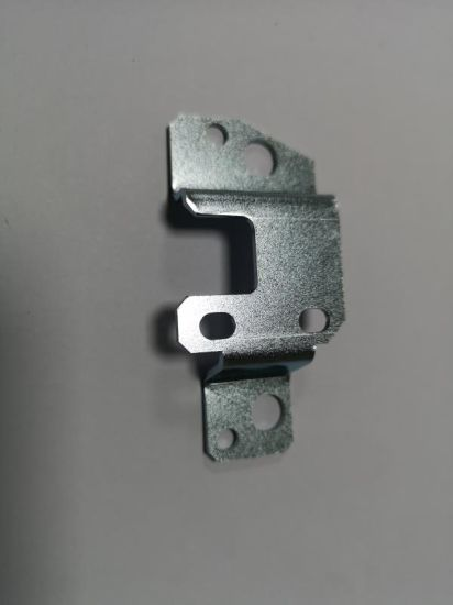 Customized Cutting and Bending Iron Steel Sheet Metal Parts with Zinc Coating