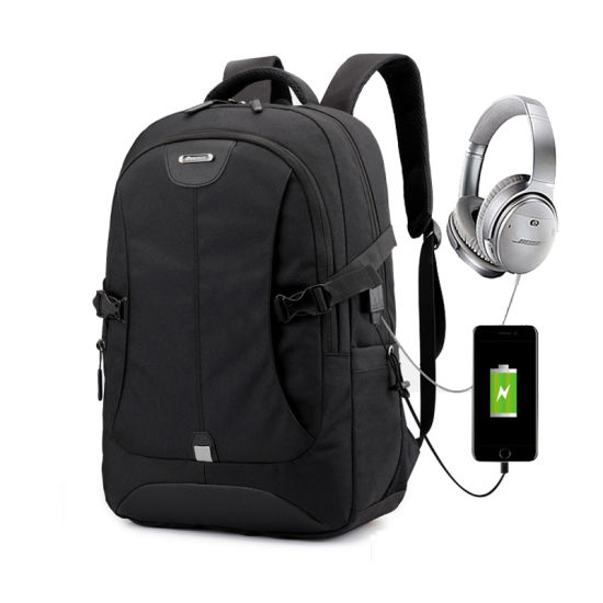 Mochila Waterproof USB School Bag Mens Anti Theft Smart Laptop Backpack