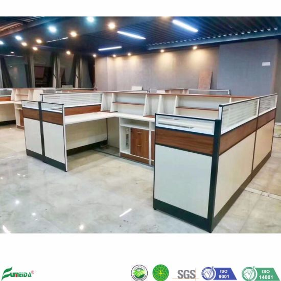 Modular 2 Person Seats Desk Furniture Partition Office Workstation
