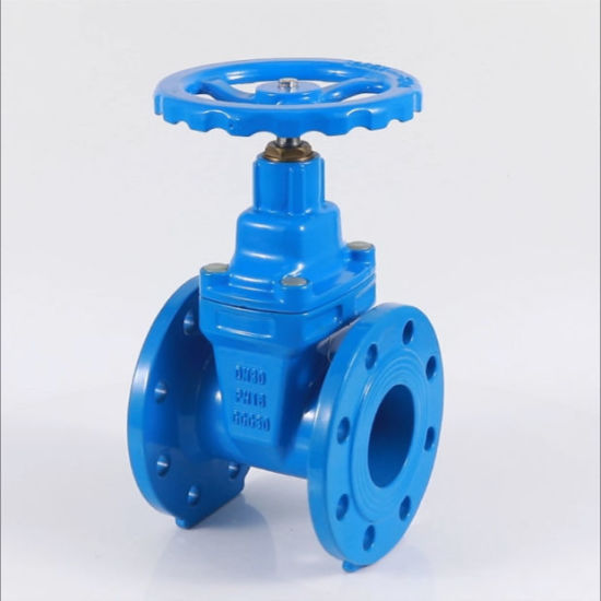 DIN3352 F4 Pn16 Ductile Iron Non-Rising Resilient Seated Gate Valve (DN50-600)