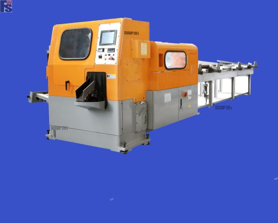CNC Circular Saw Machine Fws-120 for Carbon Steel Bar Cutting. pictures & photos