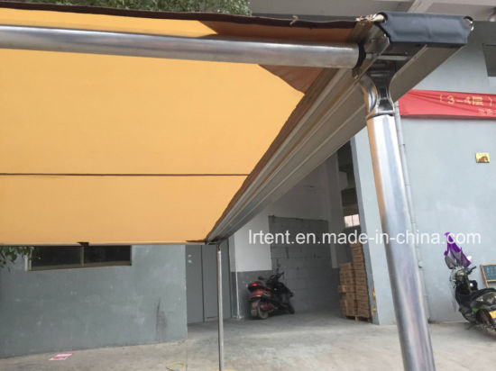 Car Roof Tent Canopy Truck Outdoor Collapsible Waterproof Canvas Beach Side Awning