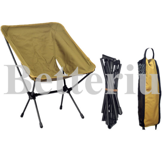 Folding Canvas Aluminum Camping Chair pictures & photos