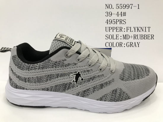 Fly Knit Upper Men's Sport Shoes Outdoor Comfortable Shoes