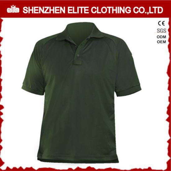Wholesale High Quality Men Golf Polo Shirt Green (ELTPSI-2)