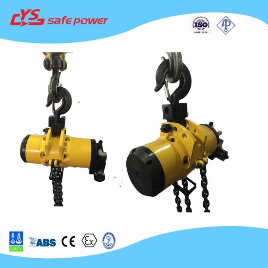 23000lb Air Chain Hoist Lifting Equipment Used for Minings, Petroleum and Chemical Hoist pictures & photos