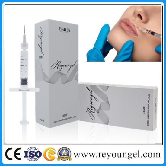 Reyoungel Injectable Ha Dermal Fillers Cross-Linked with High Quality pictures & photos