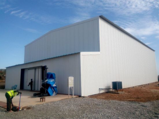 Refrigeration House Cold Storage Steel Structure Building to Africa