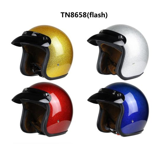 Customized ECE Certification Motor Helmets ABS Adult Open Face Motorbike pictures & photos