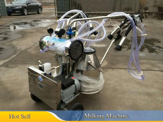Free Pneumatic Pulsator 【USA】Portable Cow Milker Milking Bucket Tank Barrel