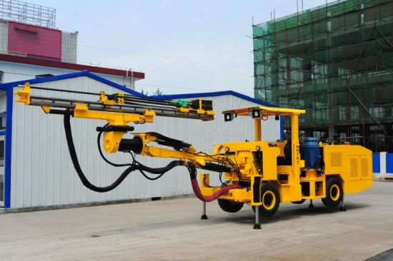 Single Boom Underground Hydraulic Drilling Jumbo pictures & photos