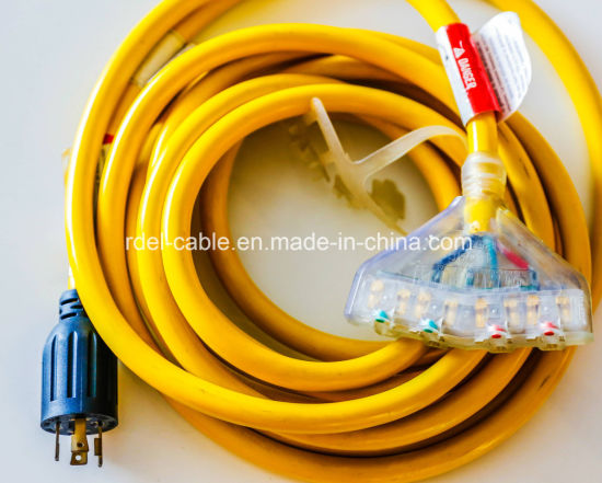 4-Conductor Cord L14-30p/5-20r pictures & photos