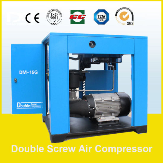 185kw 24.5~32.5m3/Min Industrial Stationary Electric Screw Air Compressor with Air Dryer pictures & photos
