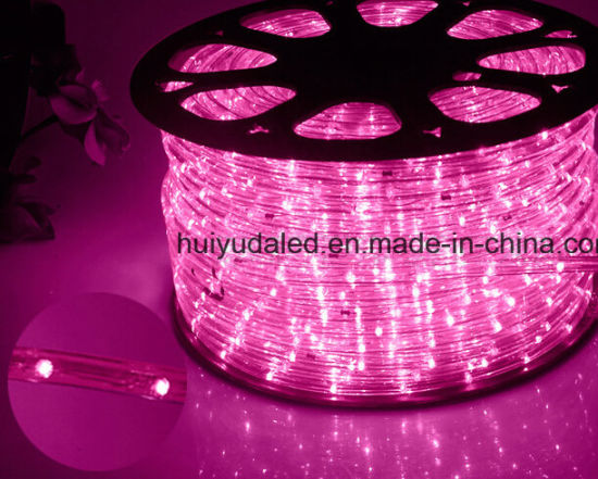 China led rope lightoutdoor lightled strip lightneon light led rope lightoutdoor lightled strip lightneon lightchristmas lightholiday lighthotel lightbar light round two wires pink color 25leds 16wm led aloadofball Images